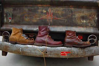 Red Wing boot line up