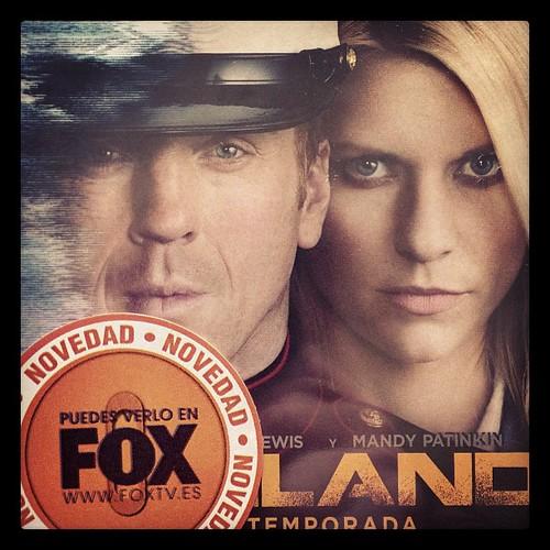"""Primera temporada de """"Homeland"""" en Blu-Ray"""