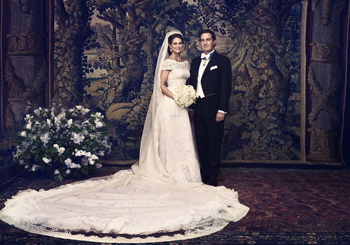 Swedish Royal Wedding - Madeleine and Chris