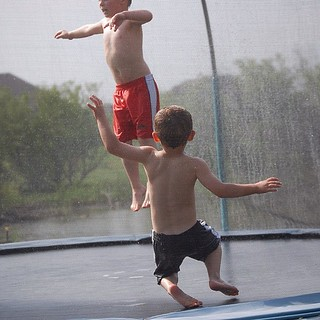 #jump on the #trampoline #summer fun