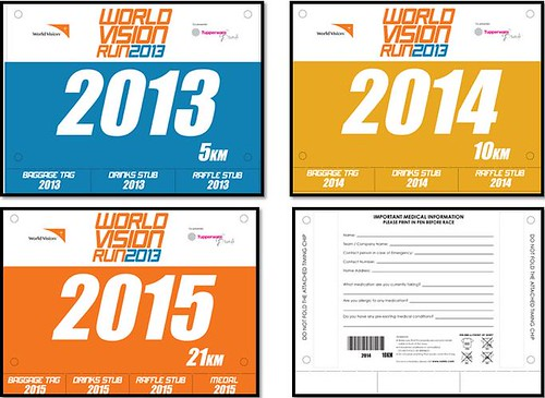 the running enthusiast world vision bib 2013