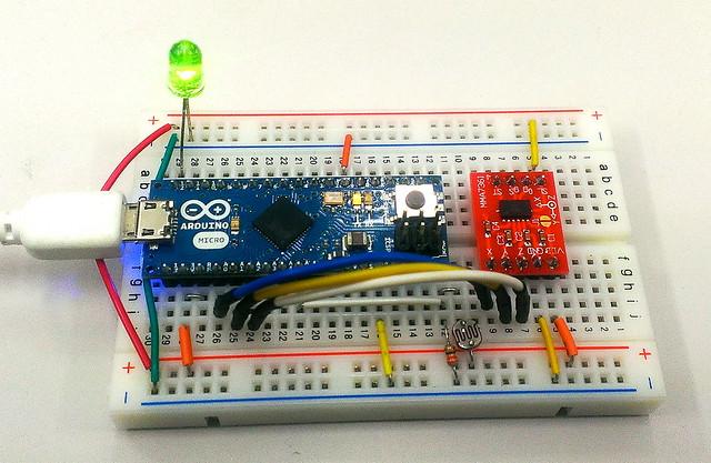 MMA7361+ArduinoMicro