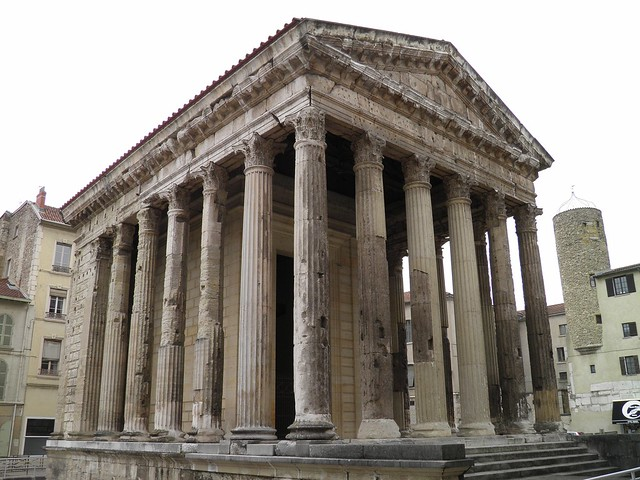Temple of Augustus and Livia, Vienne, France