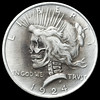 peace dollar skull by Seth Basista Engraving