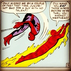 Spidey & The Torch, today at www.LongboxGraveyard.com. #comicbooks