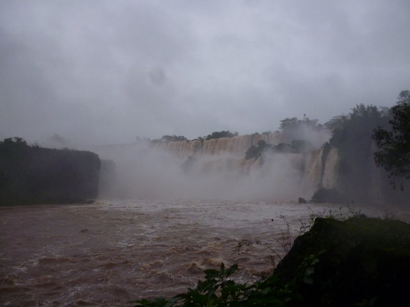 Upclose and personal with Iguazu Falls