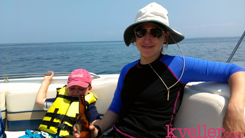 mayim-fred-boat-mexico