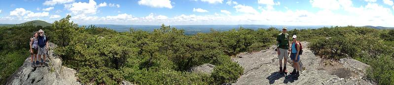 Mt. Race panorama