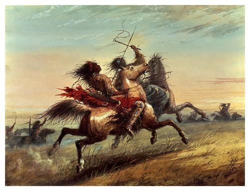 019-Partida de guerra-Alfred Jacob Miller-1858-1860-Walters Art Museum