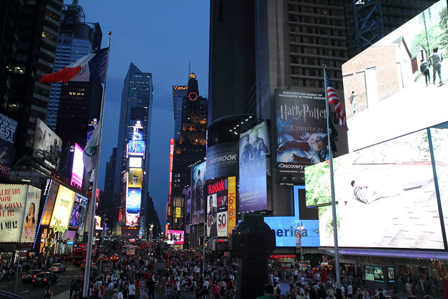 Le coeur de Time Square