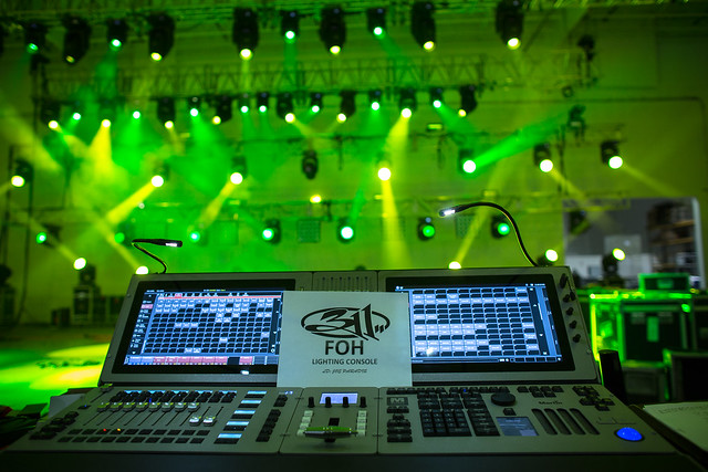 AG Production Services goes on tour with 311