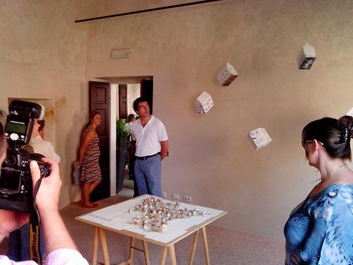 Inaugurazione ArtSite con Burville by Ylbert Durishti