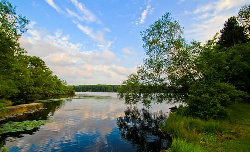 lake water reflections landscape eveningsky sullivancounty wolflake tamron1024mmlens