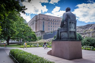 Billede af Kyösti Kallio. parliamenthouse eduskuntatalo