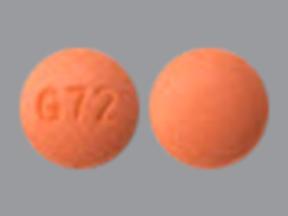 G 72 pill