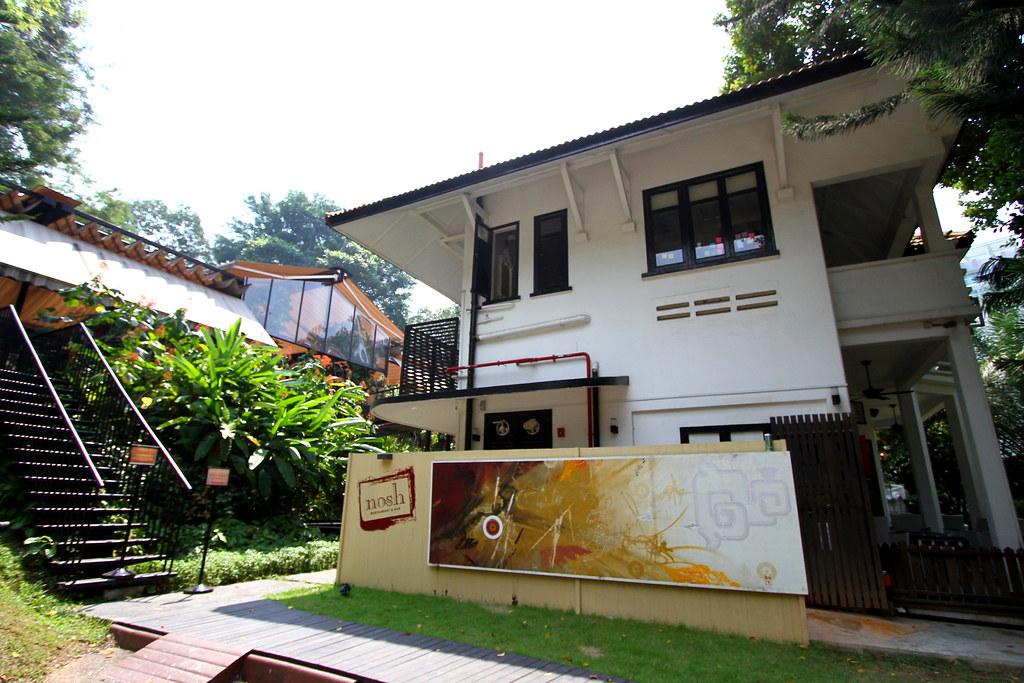 Nosh Restaurant & Bar: Exterior