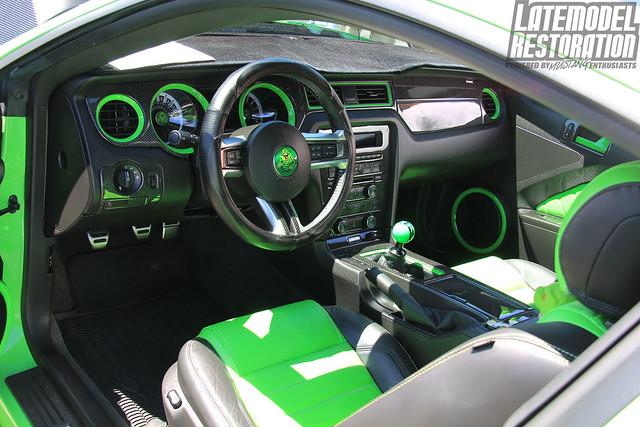 Gotta Have It Green Mustang Gt Interior At Mustang Week