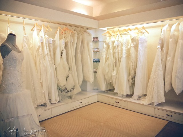 Ivory and White Bridal Store
