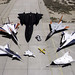 1997 Dryden Research Aircraft Fleet on Ramp by NASA on The Commons