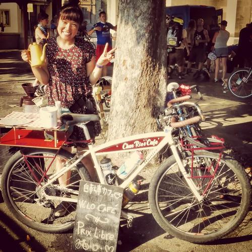 CharRie's Vélo Café at CMWC Lausanne