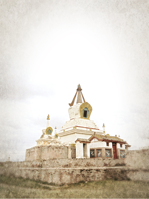 Mongolian temple