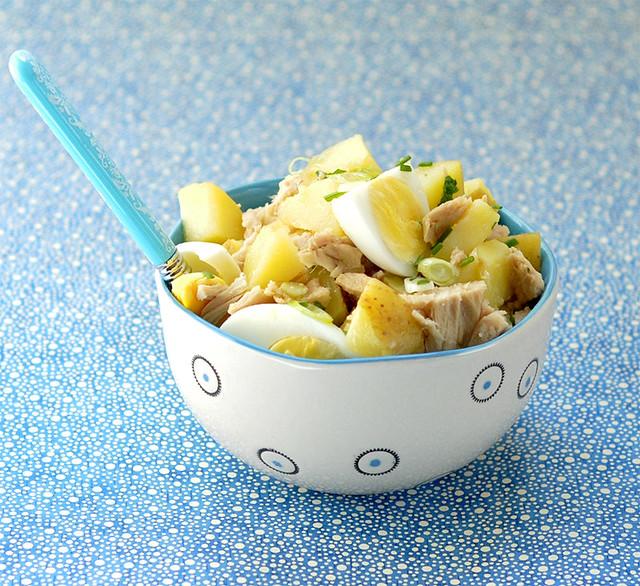 Spring Potato Salad with Tuna