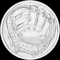 McFarland baseball coin Glove design