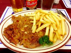 Bistec con Ajo