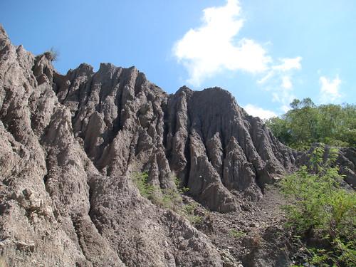 台東有6處特殊地景入列,圖為具國際級景觀的利吉惡地形。(圖片來源:林務局提供)