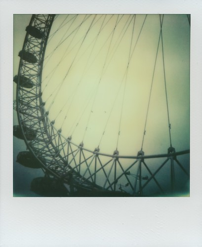 London Eye - Impossible Project Instant Lab test unit