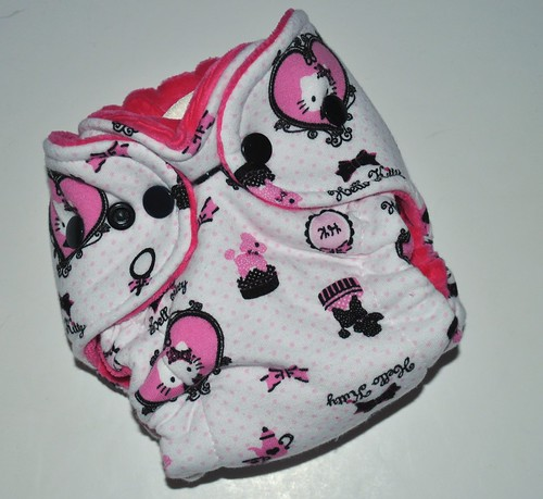 Bumstoppers Newborn Hello Kitty Fitted **New Style**