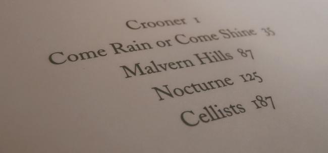 Nocturnes contents