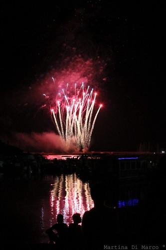 Fireworks in Marzamemi.