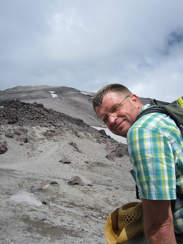 ron on mt. st. helens