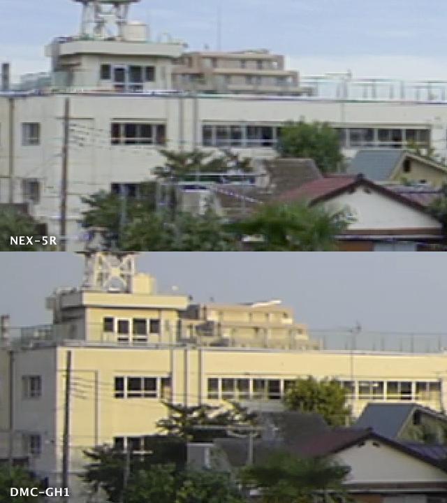 NEX-5R動画|解像200%拡大比較