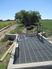 Irrigation Ditch at more normal levels