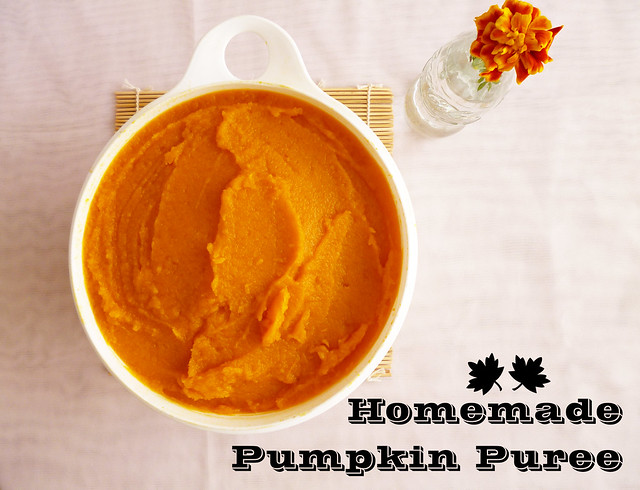 Raspberry Bloom: Homemade Pumpkin Puree