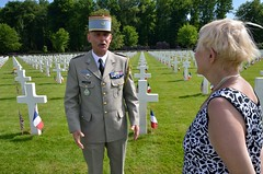 thankful French soldier