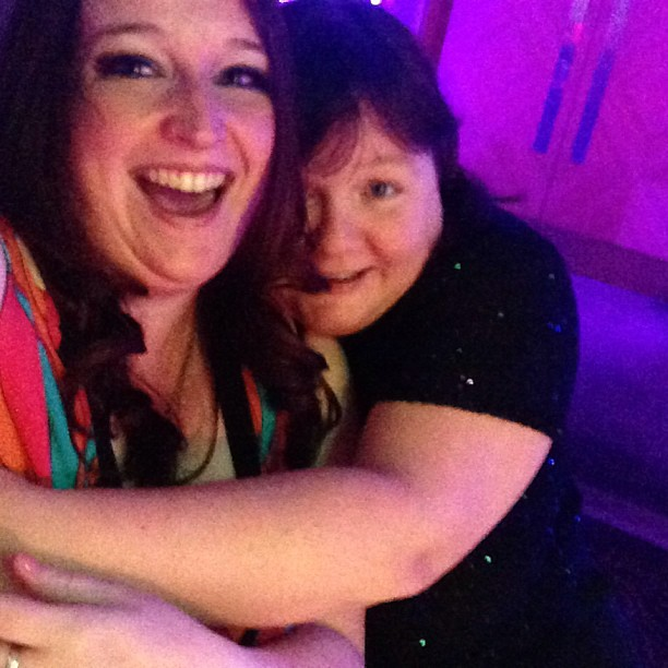 @tots100index Sally actually gave hugs!! Proper ones! I knew you loved me!