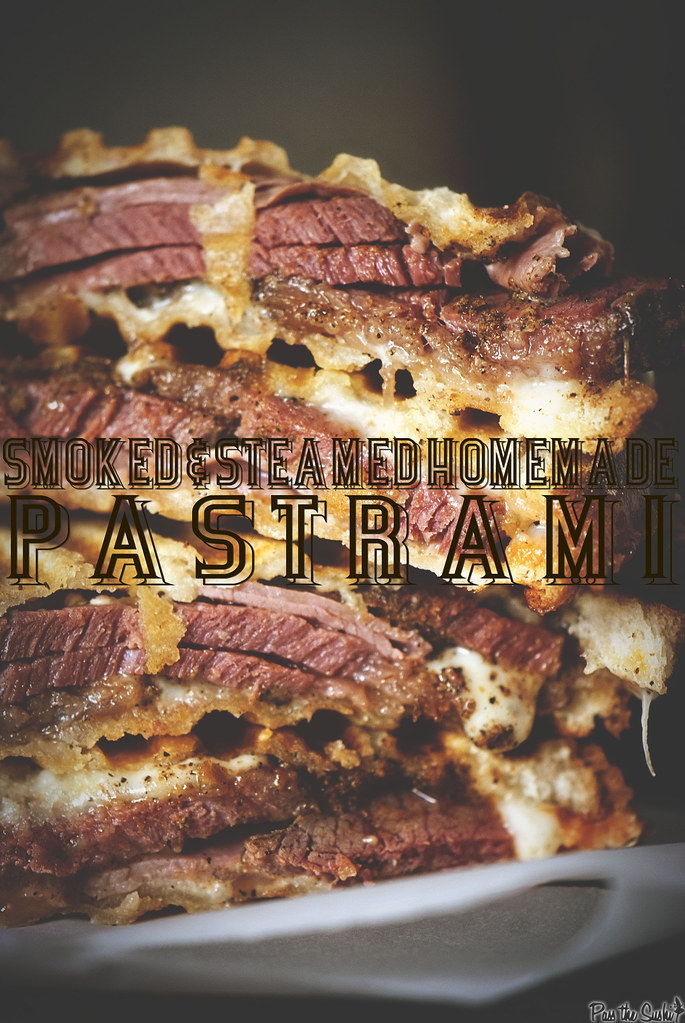 Homemade Pastrami via GirlCarnivore.com
