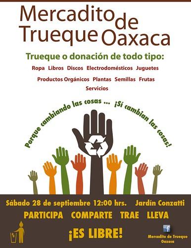 Mercadito de Trueque Oaxaca 09.2013