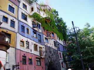 La Casa de Colores.  Viena. Austria
