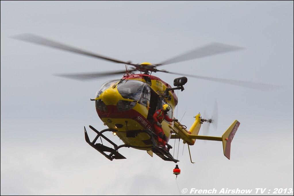 EC-145 Sécurité Civile , Meribel Air Show 2013