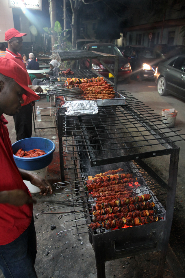 10087269115 16320a2b16 o Monster Mishkaki Kebabs at Alis Restaurant, Dar Es Salaam