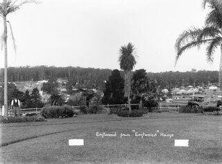 View of Eastwood from 'Eastwood' House
