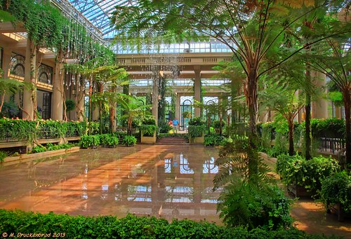 The Main Conservatory Exhibition Hall at Longwood Gardens