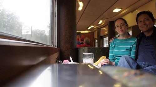 Potomac Eagle Scenic Railroad Club Car
