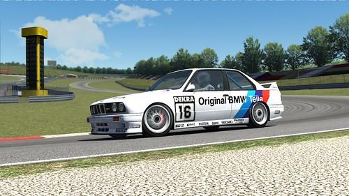 BMW E30 M3 DTM - Altfrid Heger - 1991 - Linder - Assetto Corsa