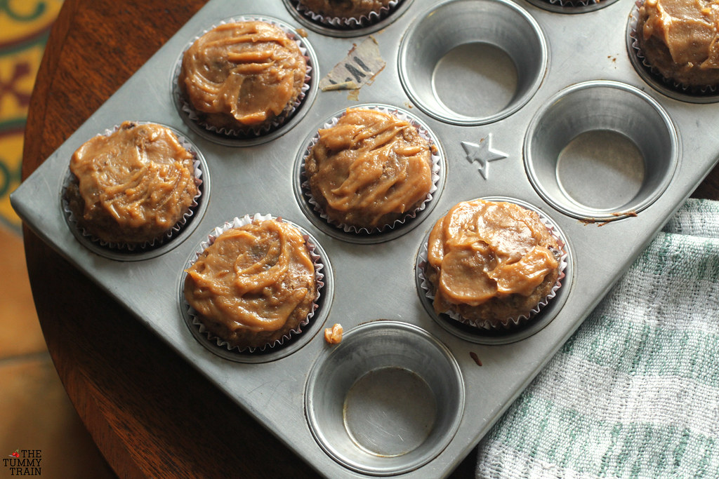 "14049953064 9a7226ee91 b - Some ""Skinny"" Peanut Butter-Banana Muffins for bikini season"