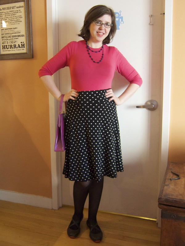 Me Made May 7: Polka Dot Work Casual